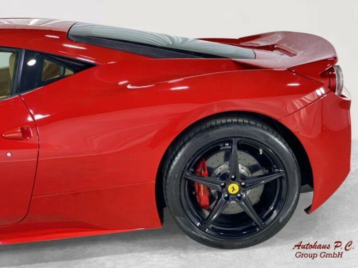 Ferrari 458 Italia #  CARBON Aerodynamics Pack / 8650 KMS / 1ere Main Rouge - 3