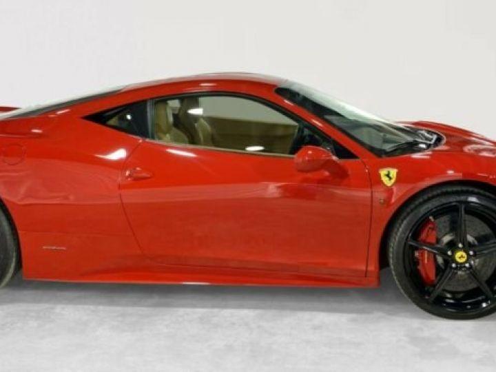 Ferrari 458 Italia #  CARBON Aerodynamics Pack / 8650 KMS / 1ere Main Rouge - 7