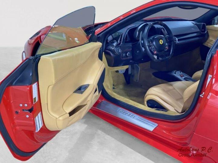 Ferrari 458 Italia #  CARBON Aerodynamics Pack / 8650 KMS / 1ere Main Rouge - 11