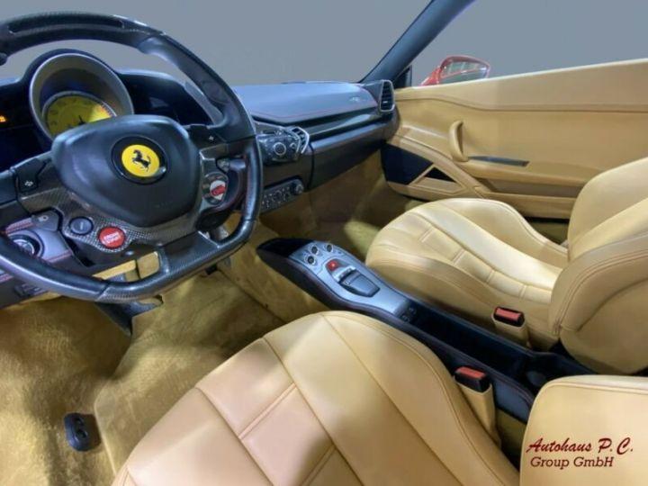 Ferrari 458 Italia #  CARBON Aerodynamics Pack / 8650 KMS / 1ere Main Rouge - 14