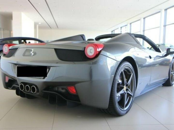 Ferrari 458 Italia Spider Grigio Silverstone métal - 2