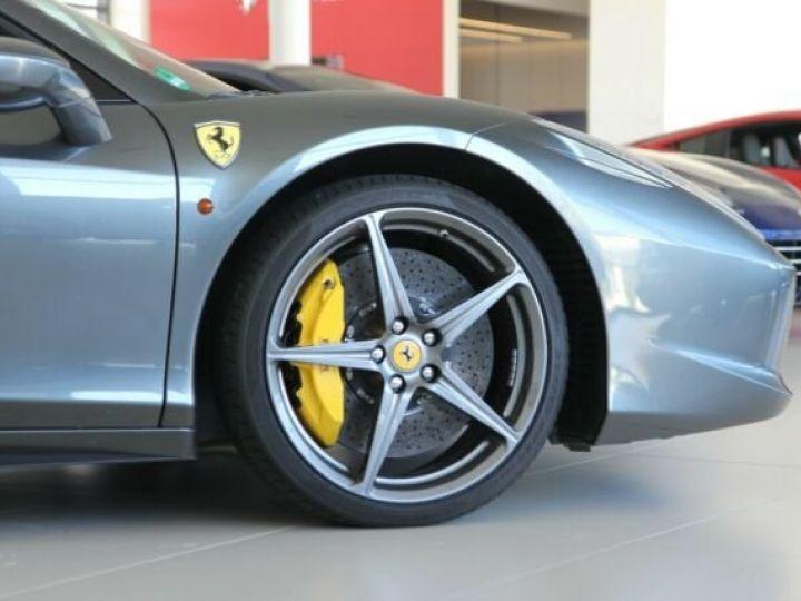 Ferrari 458 Italia Spider Grigio Silverstone métal - 14