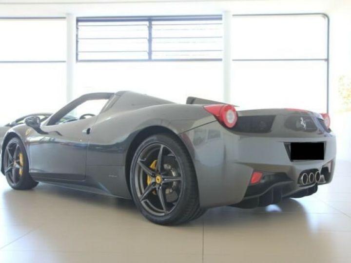 Ferrari 458 Italia Spider Grigio Silverstone métal - 20