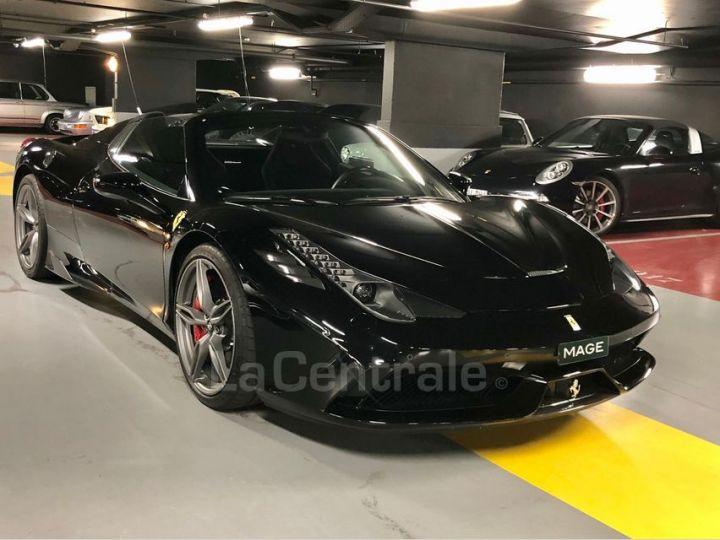Ferrari 458 Italia Spider ITALIA 4.5 SPECIALE APERTA DCT Noir Metal Occasion - 2