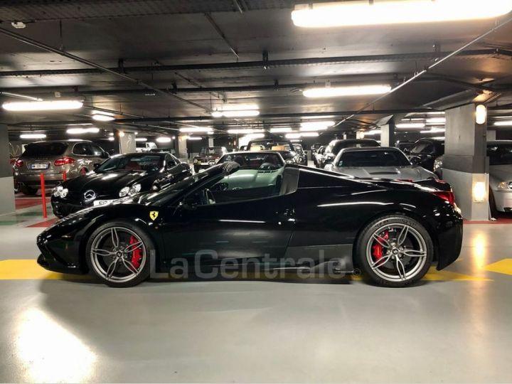 Ferrari 458 Italia Spider ITALIA 4.5 SPECIALE APERTA DCT Noir Metal Occasion - 3