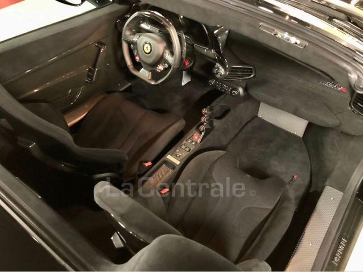 Ferrari 458 Italia Spider ITALIA 4.5 SPECIALE APERTA DCT Noir Metal Occasion - 6