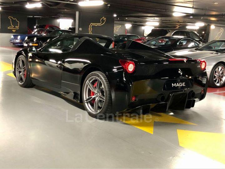 Ferrari 458 Italia Spider ITALIA 4.5 SPECIALE APERTA DCT Noir Metal Occasion - 10