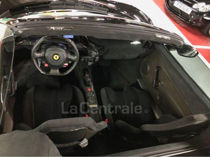 Ferrari 458 Italia Spider ITALIA 4.5 SPECIALE APERTA DCT Noir Metal Occasion - 18
