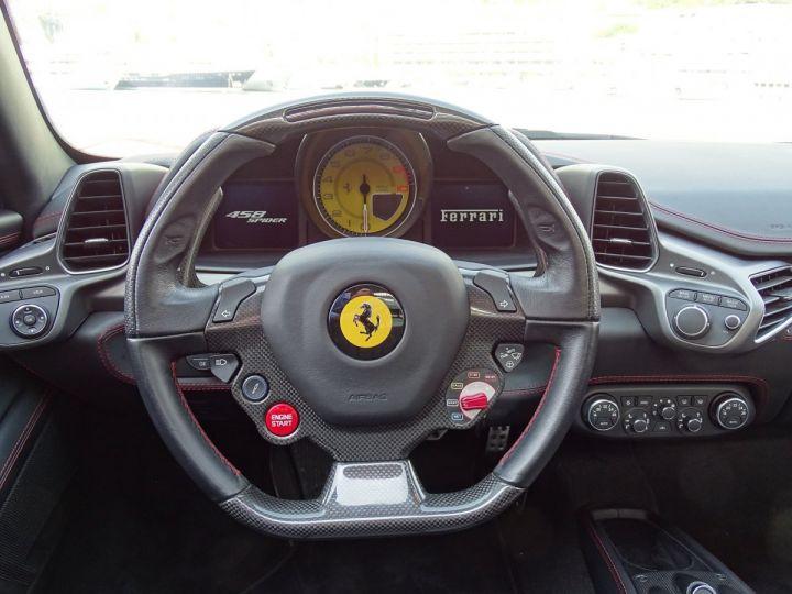 Ferrari 458 Italia Spider V8 4.5 F1 570CV - MONACO Rosso Corsa - 7