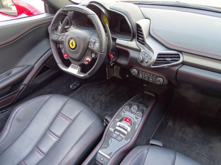 Ferrari 458 Italia Spider V8 4.5 F1 570CV - MONACO Rosso Corsa - 10