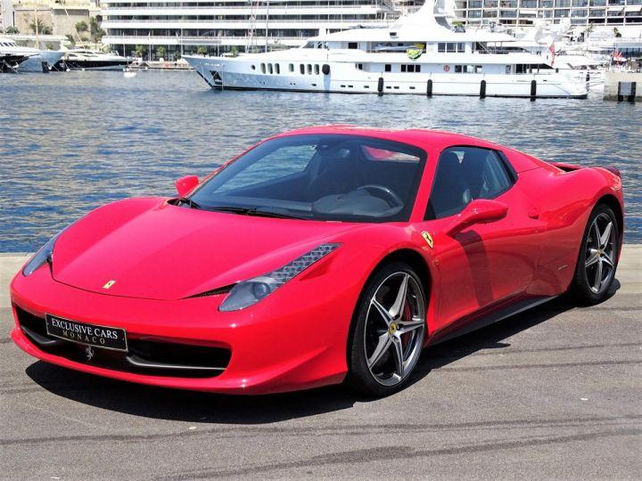 Ferrari 458 Italia Spider V8 4.5 F1 570CV - MONACO Rosso Corsa - 11