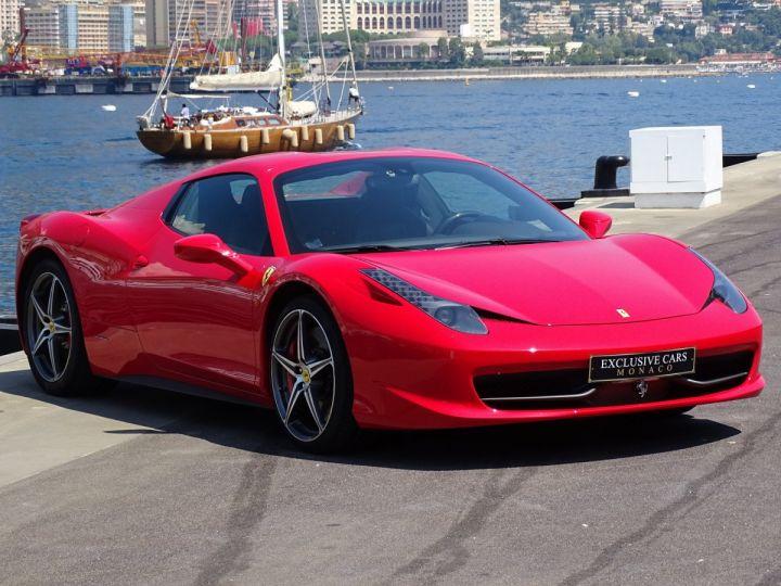 Ferrari 458 Italia Spider V8 4.5 F1 570CV - MONACO Rosso Corsa - 14