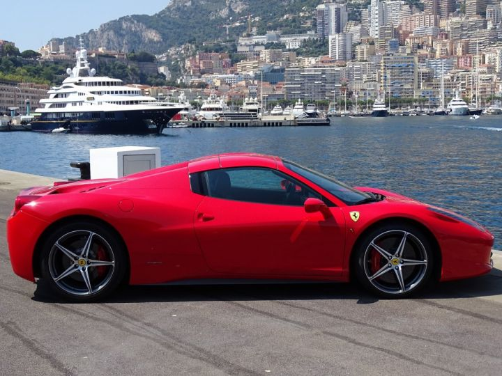 Ferrari 458 Italia Spider V8 4.5 F1 570CV - MONACO Rosso Corsa - 15