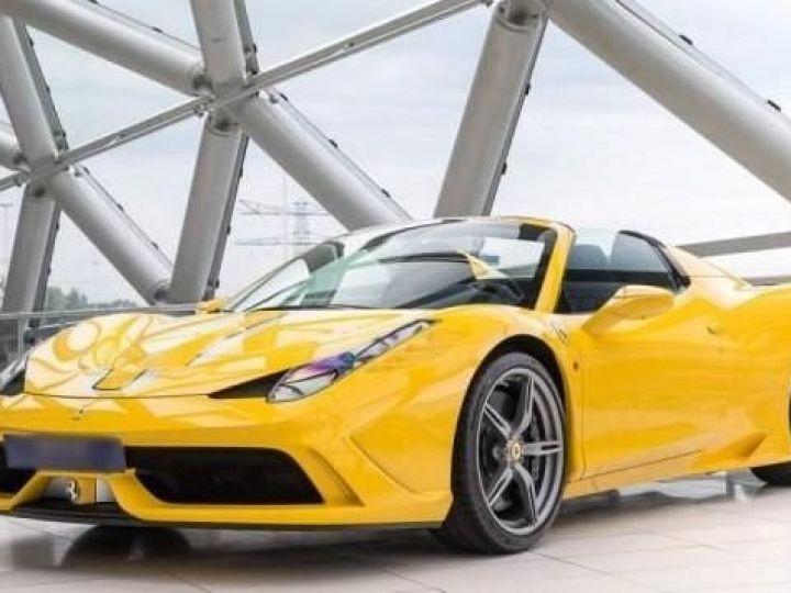 Ferrari 458 SA Special Aperta jaune - 1