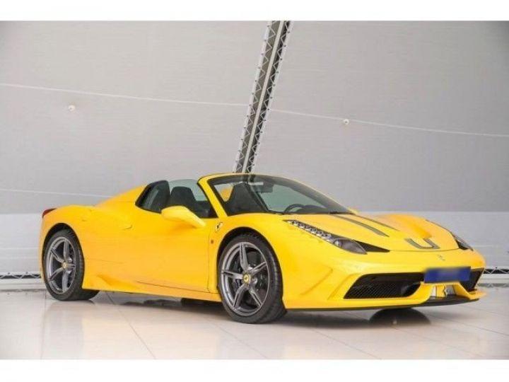 Ferrari 458 SA Special Aperta jaune - 10