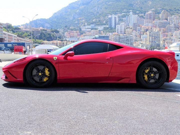 Ferrari 458 SPECIALE F1 605 CV - MONACO Rosso Corsa - 5