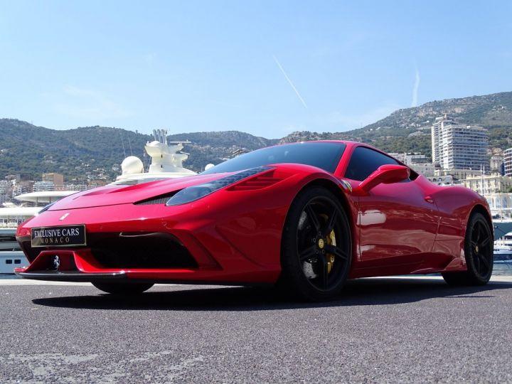 Ferrari 458 SPECIALE F1 605 CV - MONACO Rosso Corsa - 11