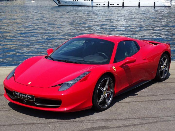 Ferrari 458 Spider V8 4.5 F1 570CV - MONACO Rosso Corsa - 2