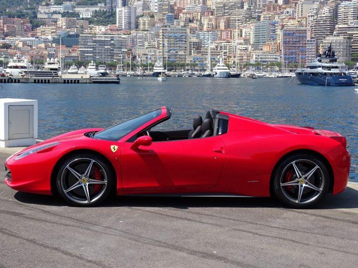 Ferrari 458 Spider V8 4.5 F1 570CV - MONACO Rosso Corsa - 3