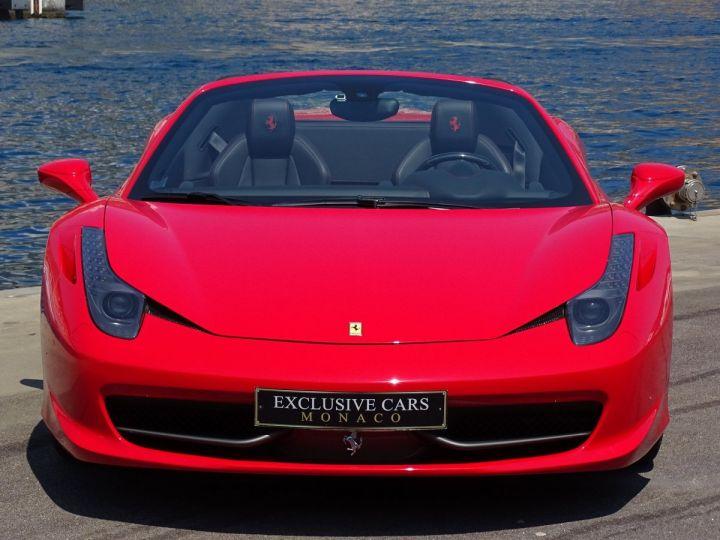 Ferrari 458 Spider V8 4.5 F1 570CV - MONACO Rosso Corsa - 4