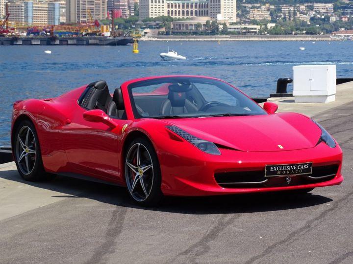 Ferrari 458 Spider V8 4.5 F1 570CV - MONACO Rosso Corsa - 5