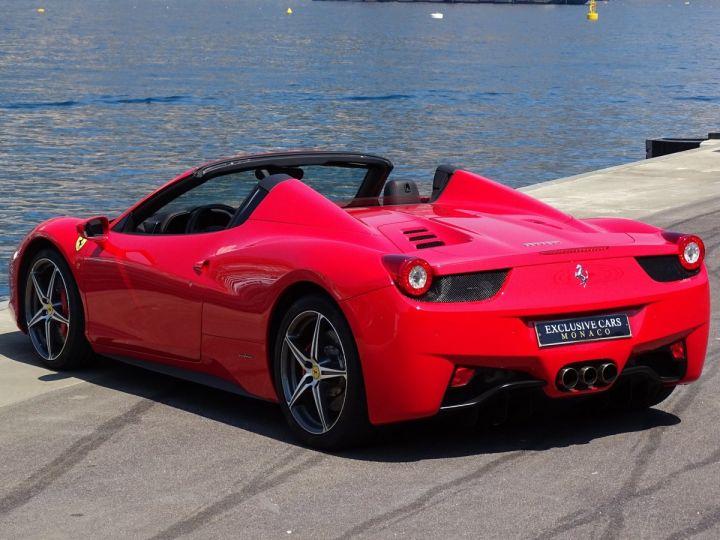 Ferrari 458 Spider V8 4.5 F1 570CV - MONACO Rosso Corsa - 7