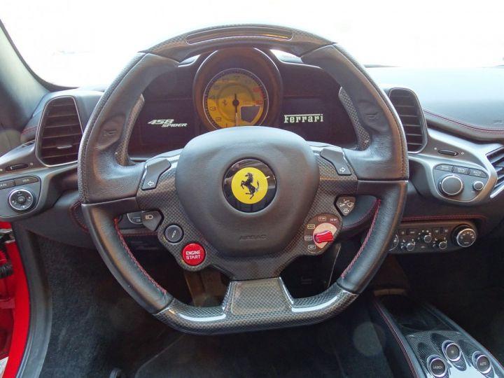 Ferrari 458 Spider V8 4.5 F1 570CV - MONACO Rosso Corsa - 10