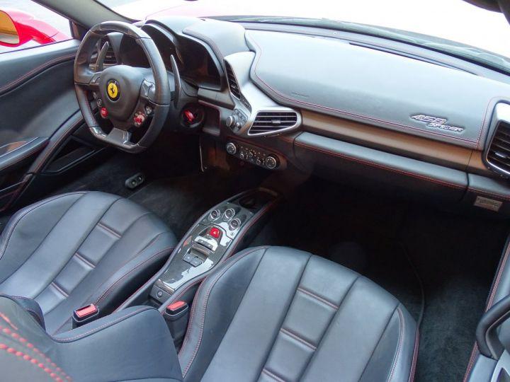 Ferrari 458 Spider V8 4.5 F1 570CV - MONACO Rosso Corsa - 11