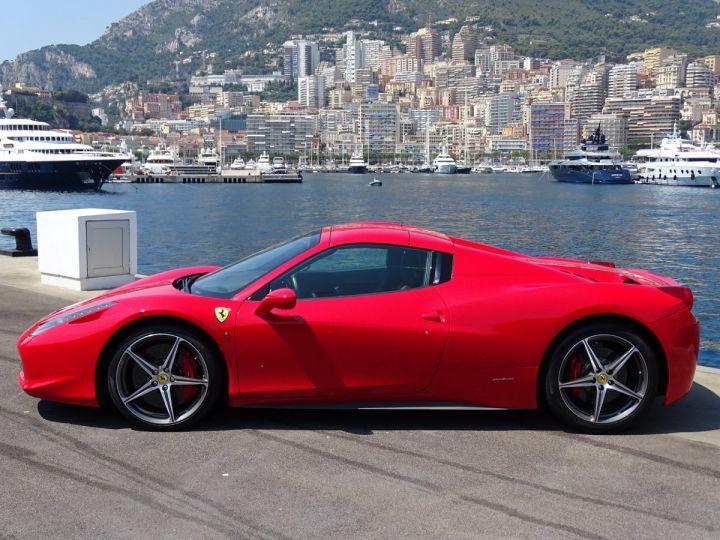 Ferrari 458 Spider V8 4.5 F1 570CV - MONACO Rosso Corsa - 13