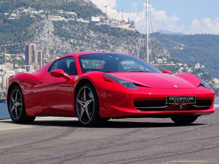 Ferrari 458 Spider V8 4.5 F1 570CV - MONACO Rosso Corsa - 14