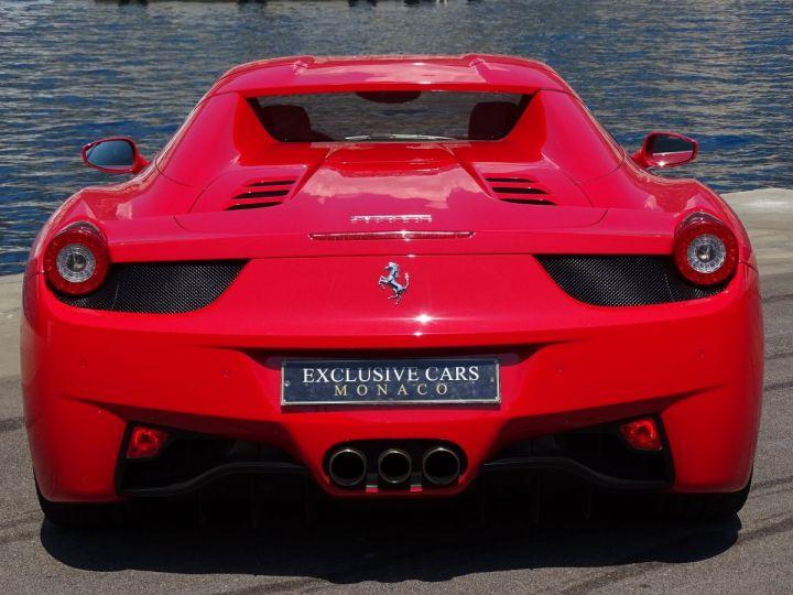 Ferrari 458 Spider V8 4.5 F1 570CV - MONACO Rosso Corsa - 16