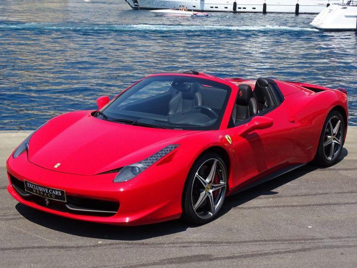 Ferrari 458 Spider V8 4.5 F1 570CV - MONACO Rosso Corsa - 17