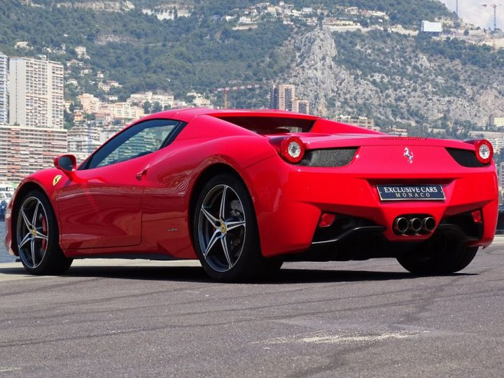 Ferrari 458 Spider V8 4.5 F1 570CV - MONACO Rosso Corsa - 18