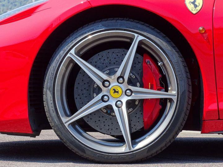 Ferrari 458 Spider V8 4.5 F1 570CV - MONACO Rosso Corsa - 21