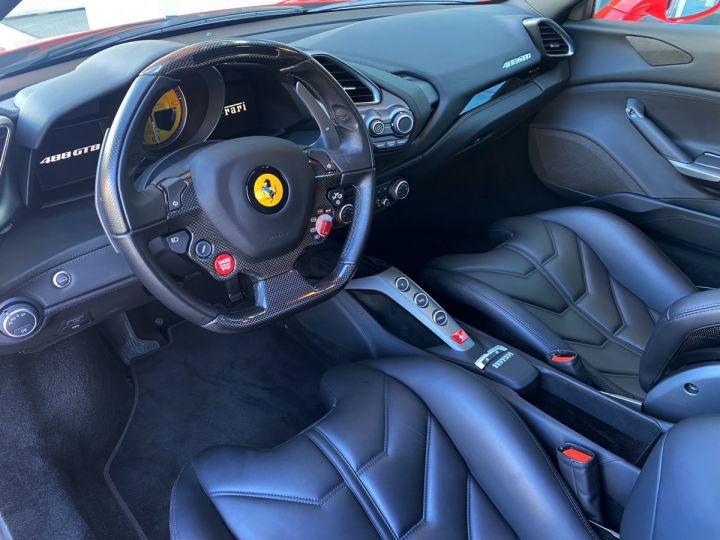 Ferrari 488 GTB COUPE V8 F1 670 CV - MONACO Rosso Scuderia - 7
