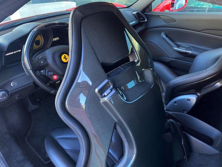 Ferrari 488 GTB COUPE V8 F1 670 CV - MONACO Rosso Scuderia - 9
