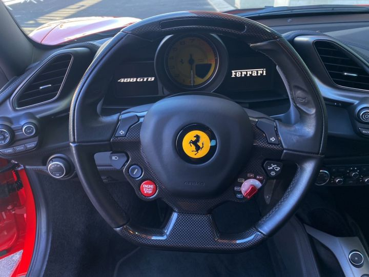 Ferrari 488 GTB COUPE V8 F1 670 CV - MONACO Rosso Scuderia - 10