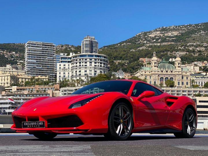 Ferrari 488 GTB COUPE V8 F1 670 CV - MONACO Rosso Scuderia - 11