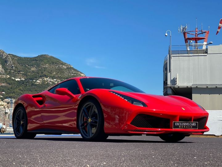 Ferrari 488 GTB COUPE V8 F1 670 CV - MONACO Rosso Scuderia - 13