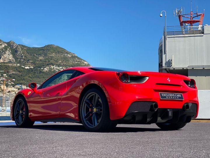 Ferrari 488 GTB COUPE V8 F1 670 CV - MONACO Rosso Scuderia - 16