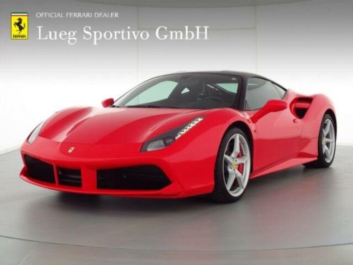 Ferrari 488 GTB V8 3.9 bi-turbo Rosso Scuderia - 1