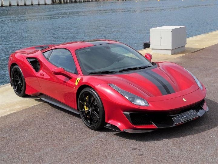 Ferrari 488 PISTA 3.9 DCT 720 CV - MONACO Rosso Fuoco - 3