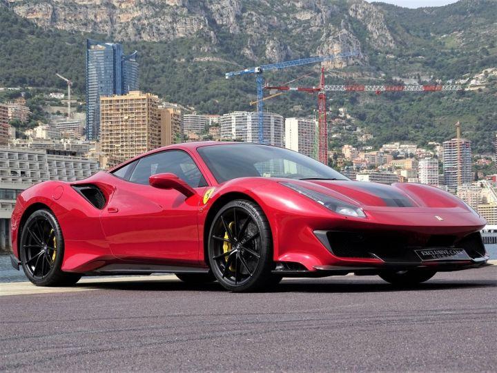 Ferrari 488 PISTA 3.9 DCT 720 CV - MONACO Rosso Fuoco - 19