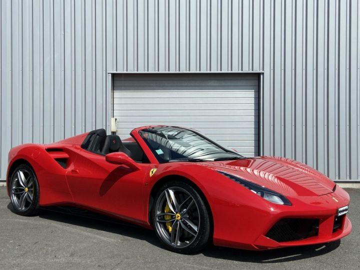 Ferrari 488 Spider 4.0 V8 670ch Rouge - 3