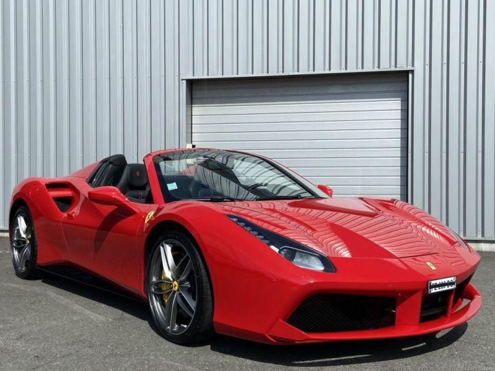 Ferrari 488 Spider 4.0 V8 670ch Rouge - 4