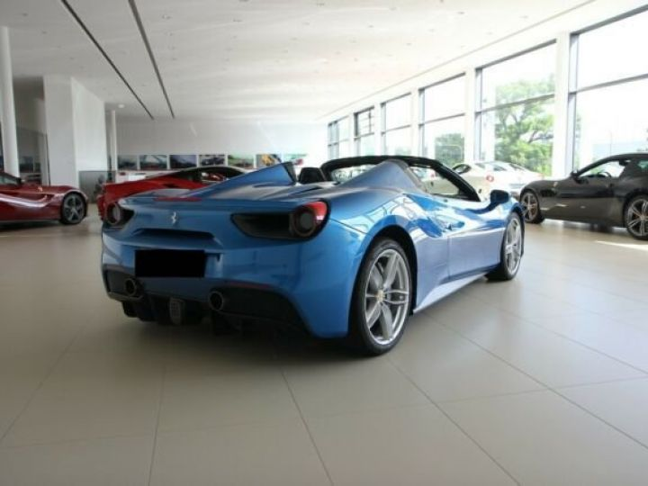 Ferrari 488 Spider Apple Carplay blu corsa - 9