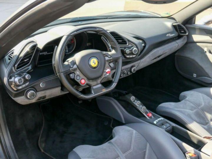 Ferrari 488 Spider Carbone#Lift#Sièges Racing#HiFi Grigio Silverstone métal - 3