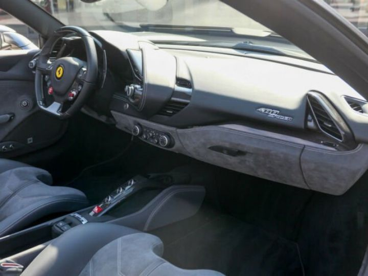 Ferrari 488 Spider Carbone#Lift#Sièges Racing#HiFi Grigio Silverstone métal - 5
