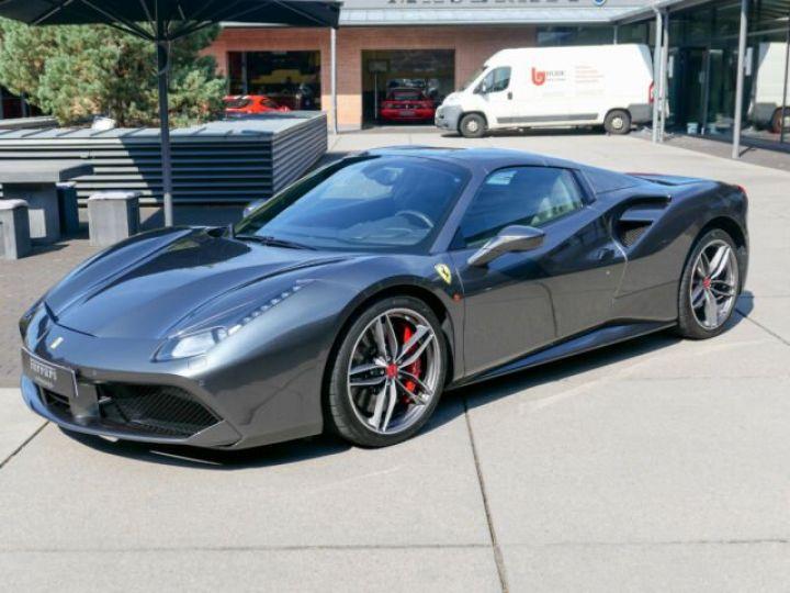 Ferrari 488 Spider Carbone#Lift#Sièges Racing#HiFi Grigio Silverstone métal - 11
