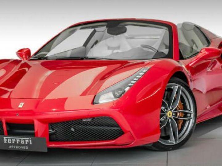 Ferrari 488 Spider PACK CARBONE#SUBLISSIME#Sièges Racing Rosso Corsa - 1